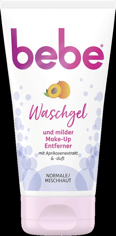 bebe Gesichtsreinigung - Mildes Waschgel mit Aprikosenextrakt und Aprikosenduft