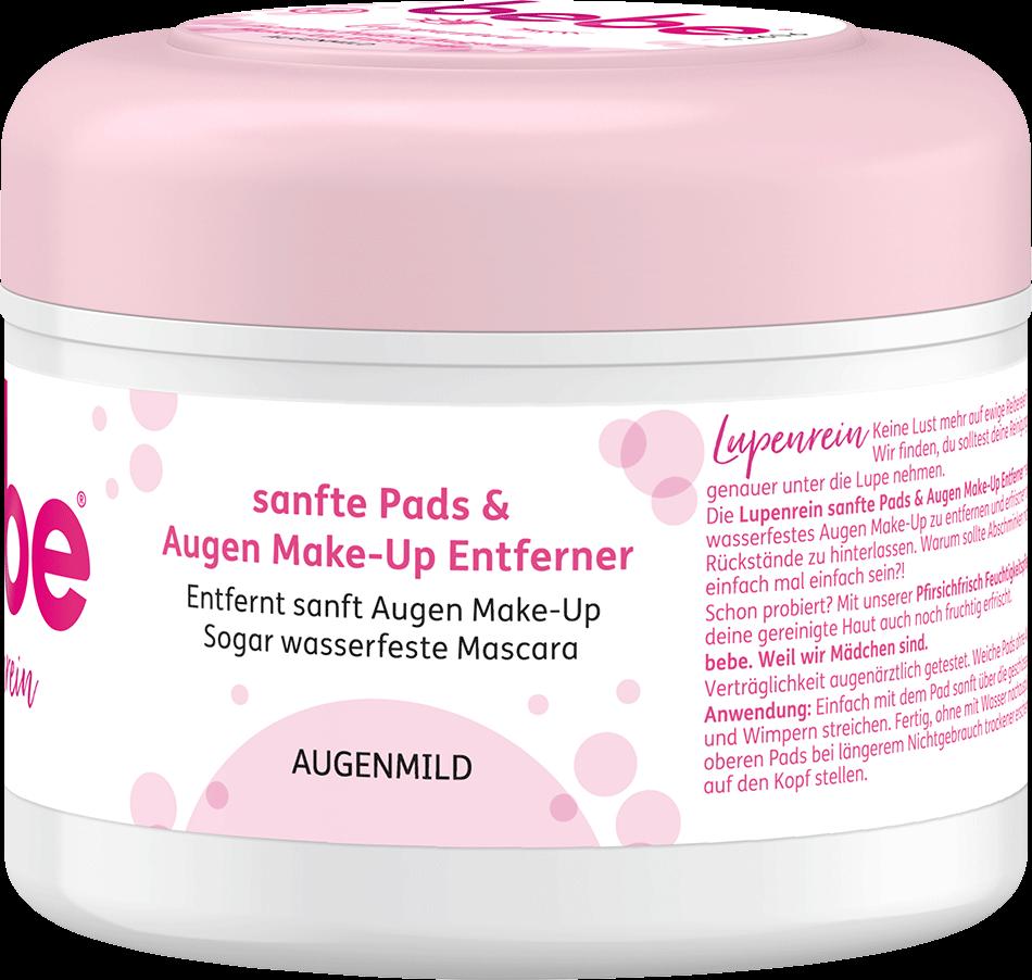 bebe Gesichtsreinigung - Softe Pads & Augen Make-up Entferner - Feuchte Abschminkpads