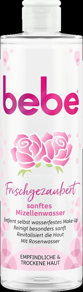 bebe Gesichtsreinigung - Frischgezaubert Sanftes Mizellenwasser – Mit effektiver Mizellen Technologie und Rosenwasser