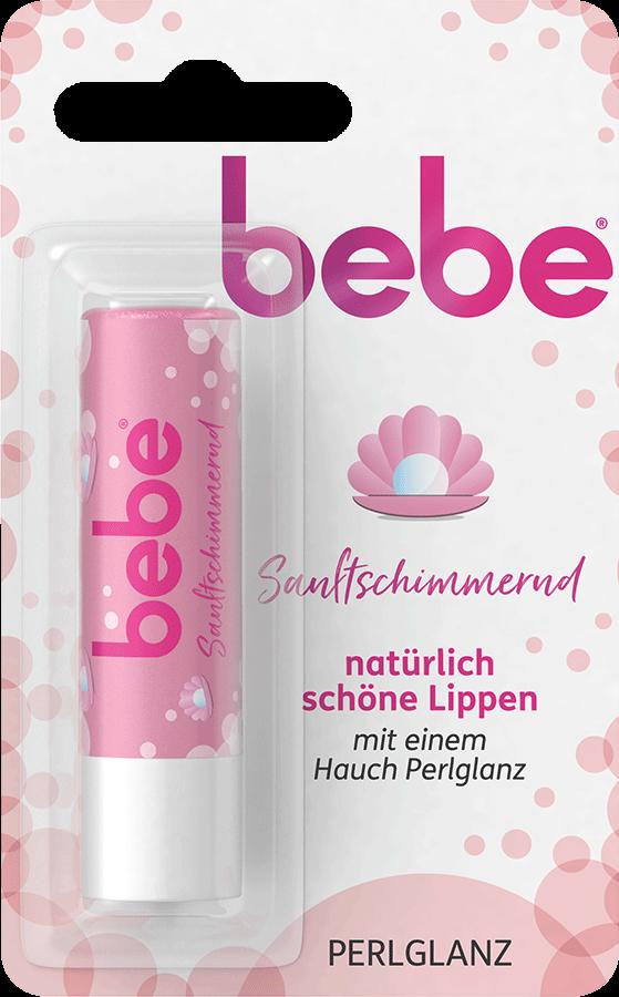 bebe Lippenpflege - Sanftschimmernd Perlglanz Lippenpflegestift - Lippenpflege fuer glaenzende Lippen