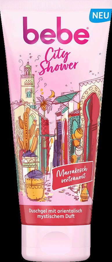 bebe Koerperreinigung und Duschen - City Shower Marrakesch - Orientalisches Duschgel mit mystischem Duft